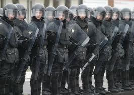 Для предотвращения митингов в Киев были переброшены Внутренние войска